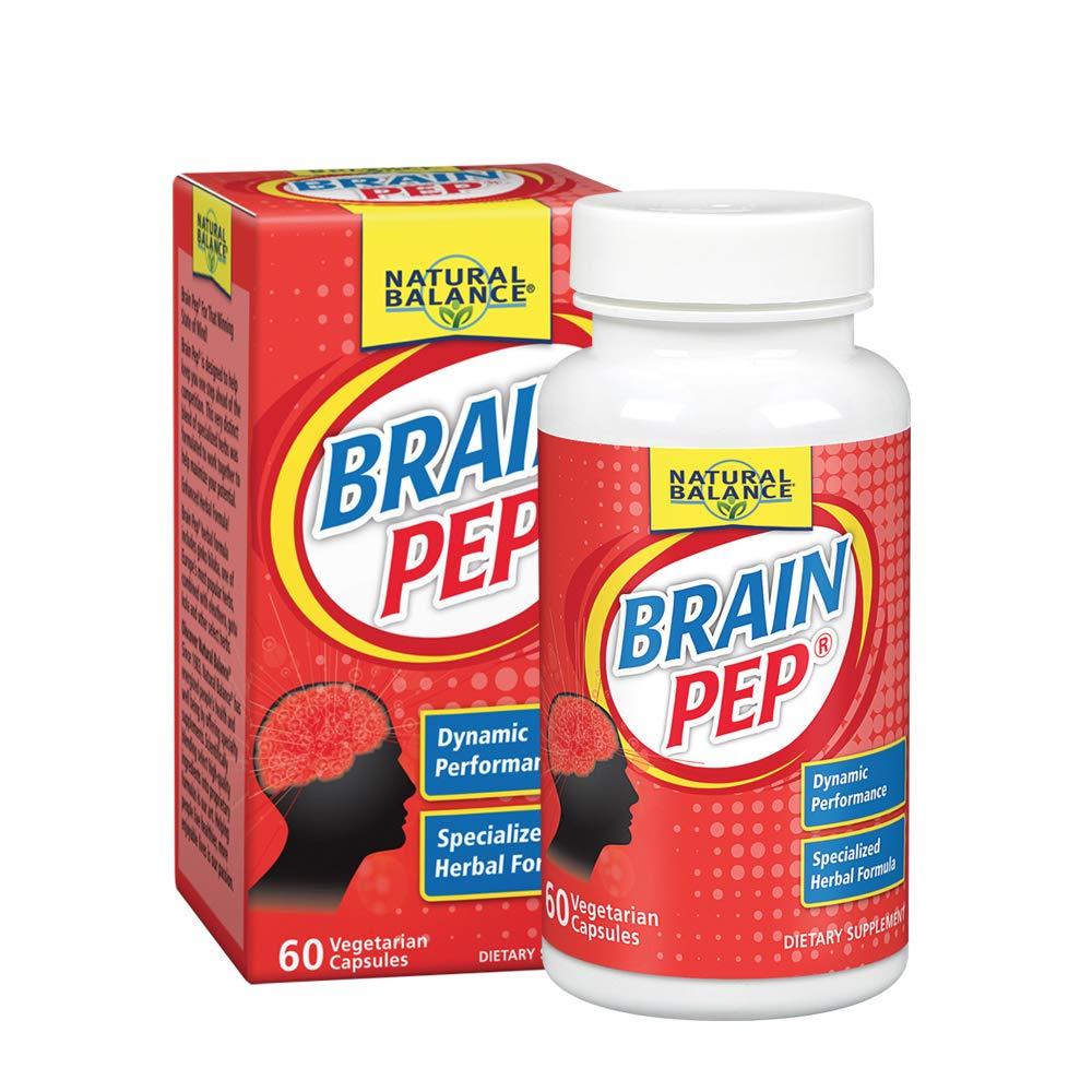 Natural Balance Brain Pep, 60-Count