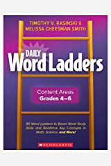 Daily Word Ladders: Content Areas, Grades 4-6 (Professional Books) Paperback