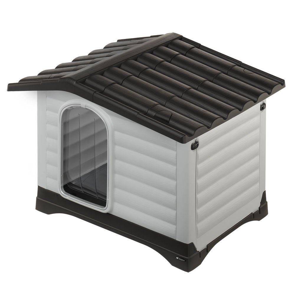 Ferplast Puerta caseta de perro Dogvilla: Amazon.es: Productos para mascotas