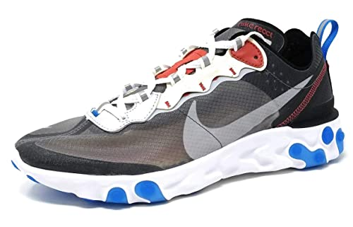 1354027e557e Nike React Element 87 - Darke Grey Pure Platinum Trainer  Amazon.co ...