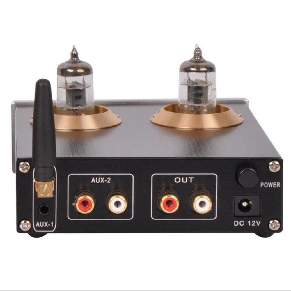 NEW M7 Tube 6j1 Pre Hi-Fi bile Audio Bass Adjustment Fever ess9023 Wireless Bluetooth Receptor de audio converter incorporados for Amplifier: Amazon.es: ...