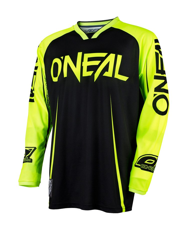 O'Neal Mens Mayhem Lite Blocker Jersey (White/Gray, Large) O' Neal 0030-214