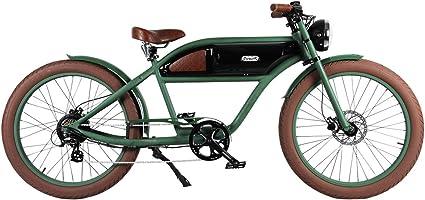 Bk//Bk T4B Michael Blast Greaser Retro eBike Electric Bicycle Bike 26 500W 48V