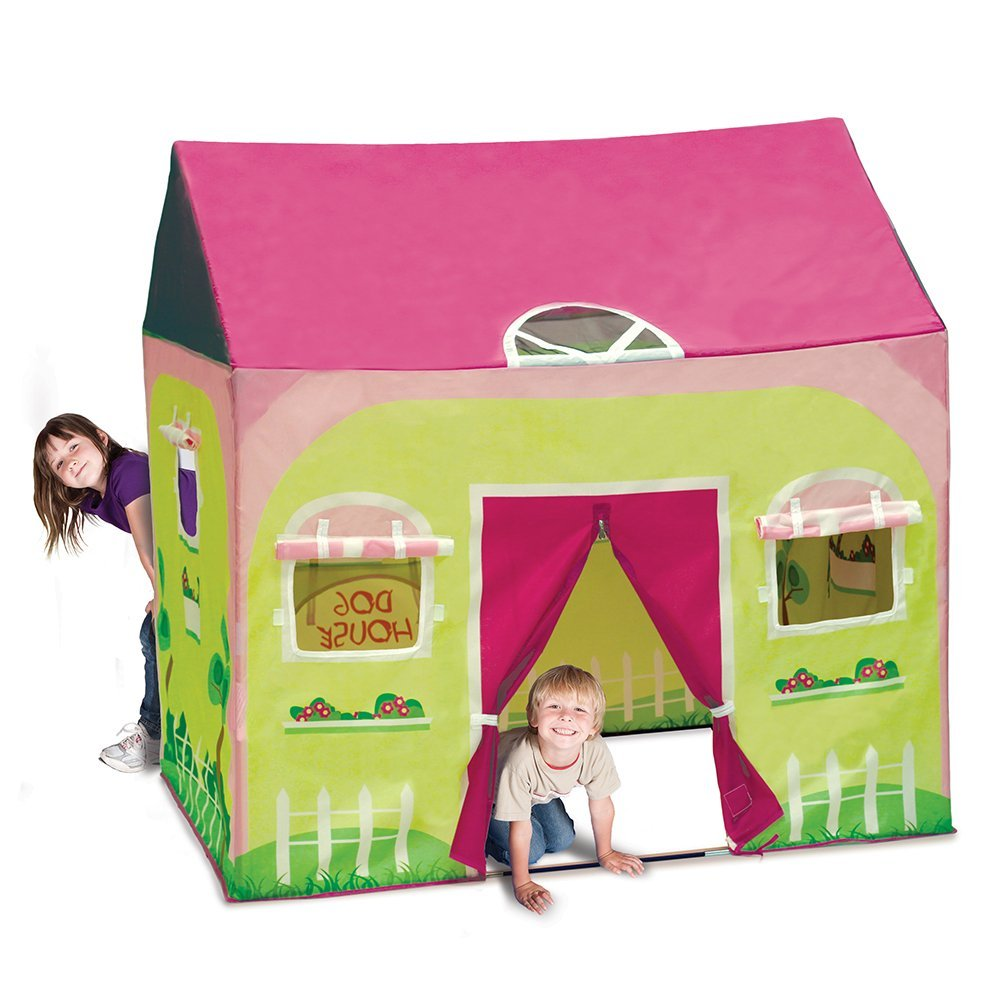 The Cottage Play tents House is a great place to hide, play the game, you chase the cows around, or have a nap