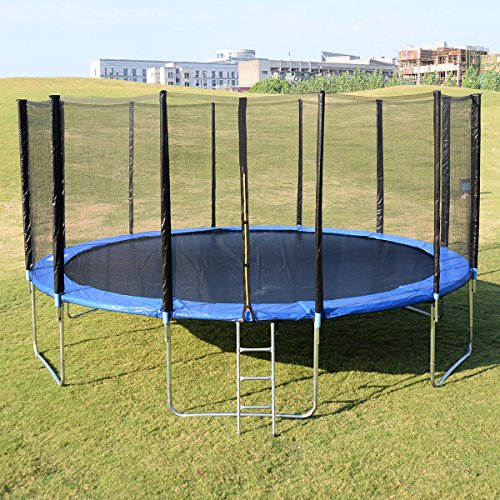 Bounce Pro Trampoline Replacement Springs: Giantex Trampoline Combo Bounce Jump Safety Enclosure Net