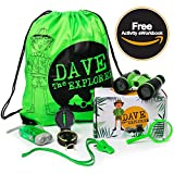 Kids Nature Exploration Educational Toy - Complete Gift Set Your Kid's Outdoor Adventures. Perfect Hiking, Camping Playing in The Backyard. Outdoor Adventure Kit Kids - Free eWorkbook!