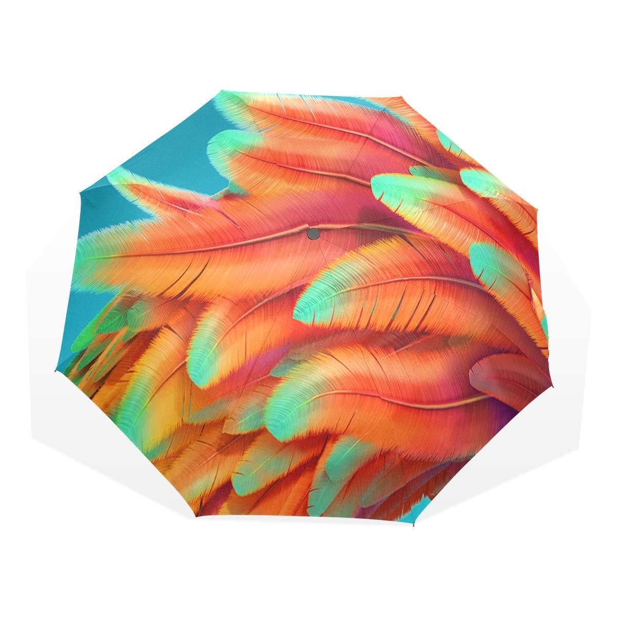 HangWang 傘 ライムグリーン ダイヤモンドパターン 旅行/ゴルフ/日/雨/風に強い傘 UV保護 子供/女の子/男の子用 B07PVMQ4XP パターン4 37.8\