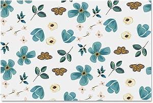 Puzzle for Adults 1000 Pieces, Jigsaw Puzzles- Retro Floral Pattern Garden Flowers Butterflies Puzzle for Kids Teens, Large Puzzle 70cm X 50cm (27.56