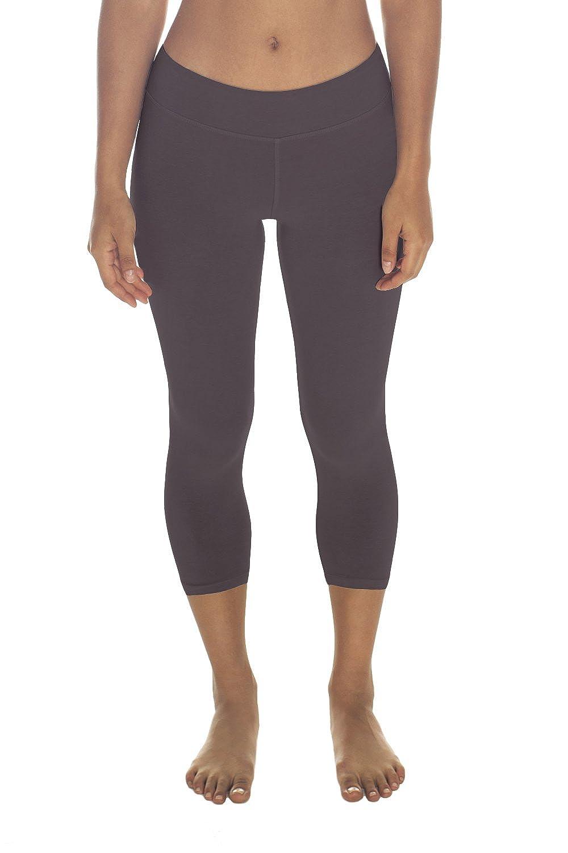 e48c61c0157ac9 Organic Cotton Spandex Capri Leggings, Non-GMO, Eco Friendly, Made in The  USA at Amazon Women's Clothing store: