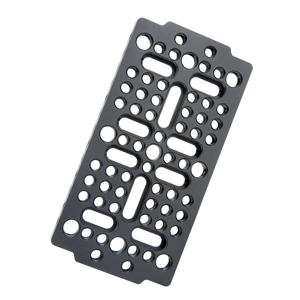 NICEYRIG Camera Cheese Mounting Plate Applicable URSA Mini Camera Railblocks Dovetails Cages Attachment