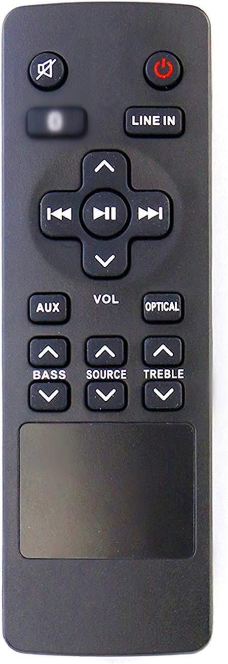 ALLIMITY RTS7010B Replaced Remote Control Fit for RCA Home Theater Sound Bar RTS7010B-E1 RTS7110B RTS7630B RTS739BWS