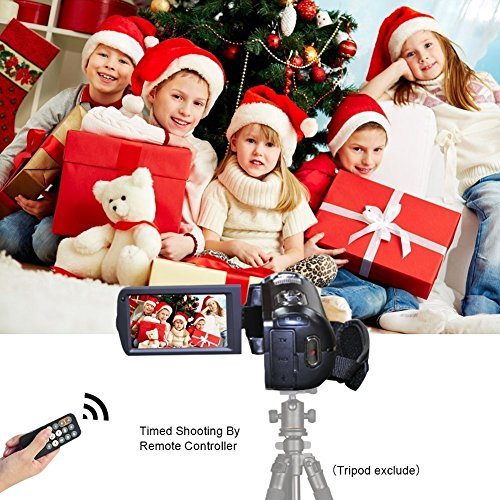 Digital Video Camera Camcorders With IR Night Vision 24.0 Mega pixels, WEILIANTE Portable Mini Handheld Camcorder HD 1080P Max. DV 3' LCD Screen 16X Zoom (Two Batteries Included)
