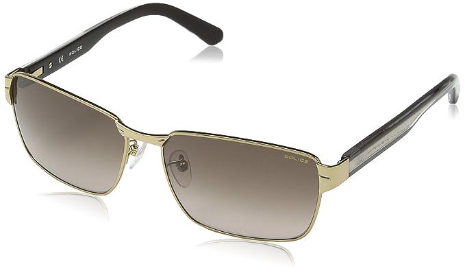 Police - Gafas de sol Rectangulares S8850 Glider 1