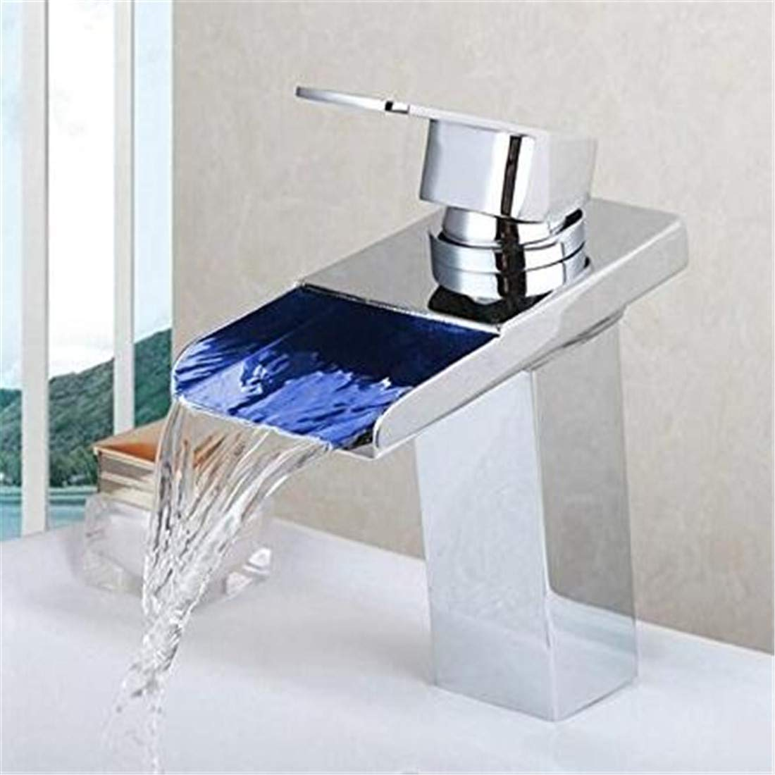 Mischbatterie Brause Drehbar Bad Spültischpowerot Chrome Finish Bad Mischbatterie Wasserhahn Massivem Messing Becken Waschbecken Mischbatterie Wasserhahn