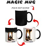 Photuprint Personalised Magic Photo Mug With Caption And Image
