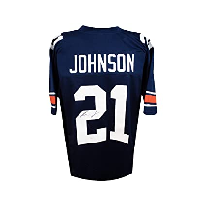 46fd9351b7b Image Unavailable. Image not available for. Color  Kerryon Johnson  Autographed Auburn Tigers Custom Football Jersey - JSA COA
