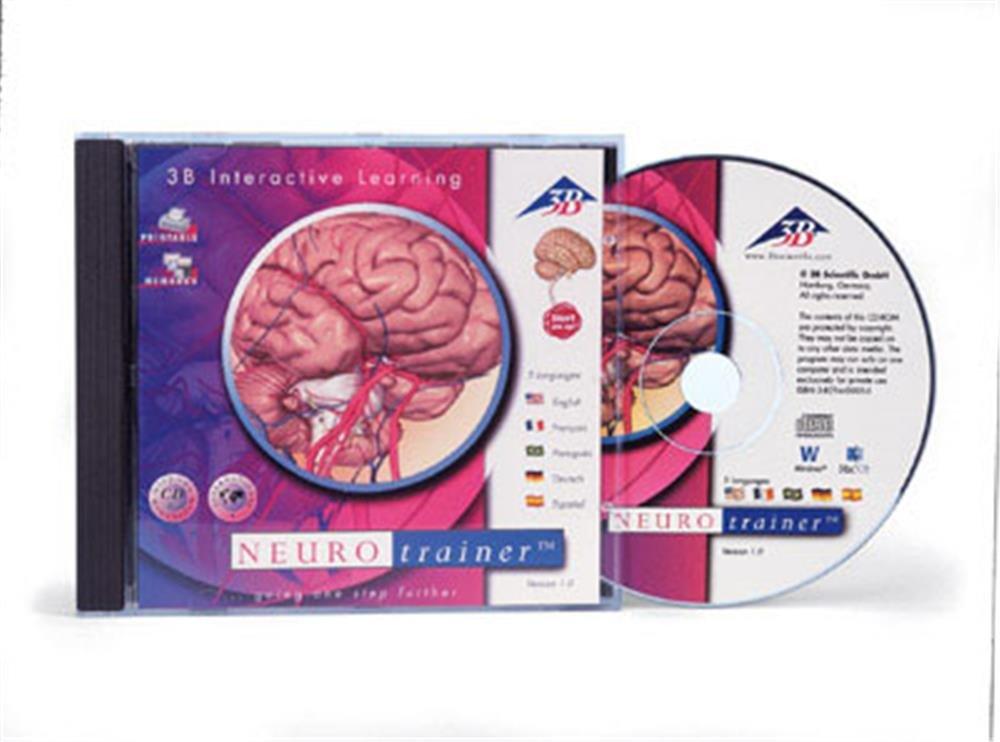 Software neurotrainer menschlichen Anatomie Frankreich 3B Scientific ...