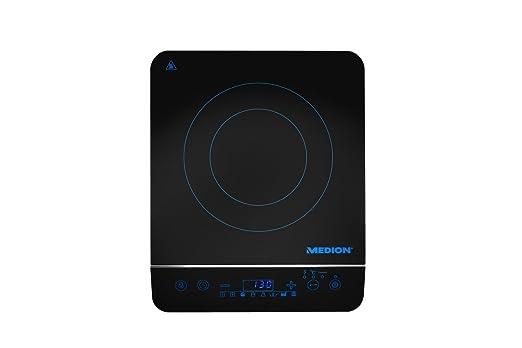 MEDION MD 17595 - Cocina eléctrica de inducción, vidrio de ...