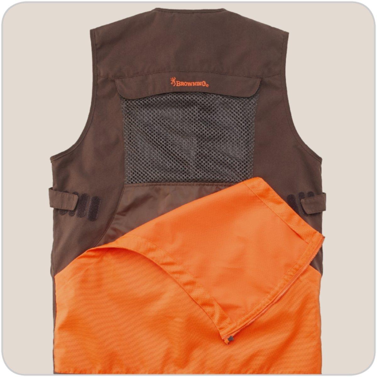 Browning Chaleco de Caza Upland Hunter Visibilty Naranja, Naranja, Large: Amazon.es: Deportes y aire libre