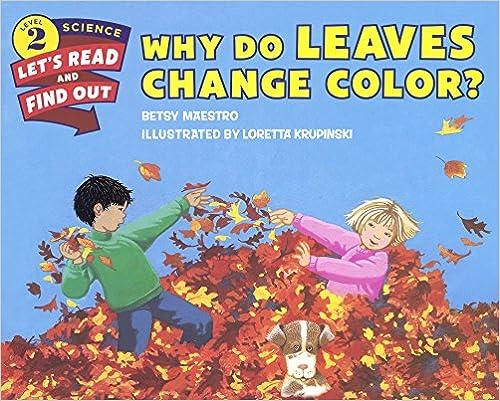 Mejor Torrent Descargar Why Do Leaves Change Color? En PDF