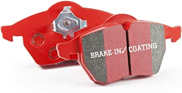 EBC REDSTUFF CERAMIC PERFORMANCE BRAKE PADS FRONT DP31032C