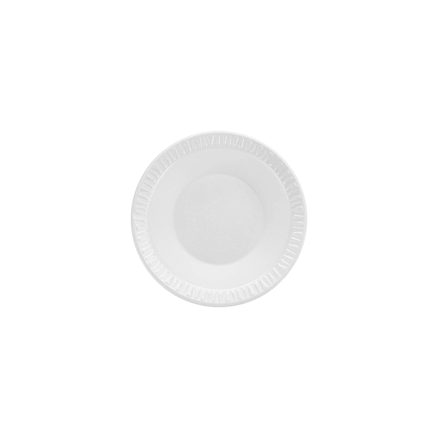 Dart 35BWWC 3.5-4 oz White Unlaminated Foam Bowl (Case of 1000)