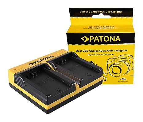 Patona® - Cargador Doble para Sony NP-FZ100 A7 III A7M3 ...