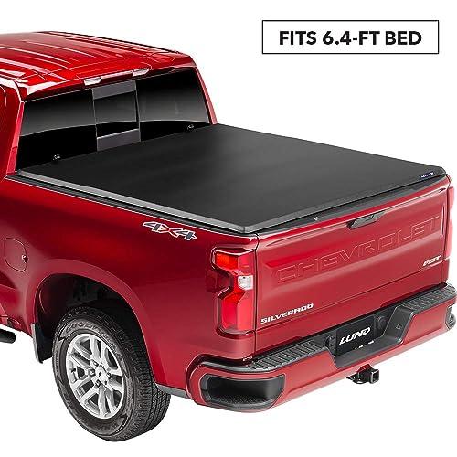 Lund Genesis Tri-Fold Soft Folding Truck Bed Tonneau Cover