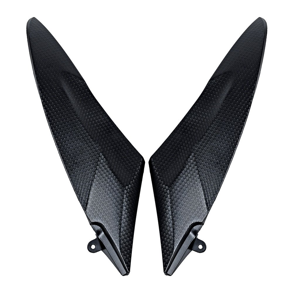 Matte Black Gas Tank Side Cover Panel Fairing For 2006 2007 Yamaha YZF R6 by Astra Depot