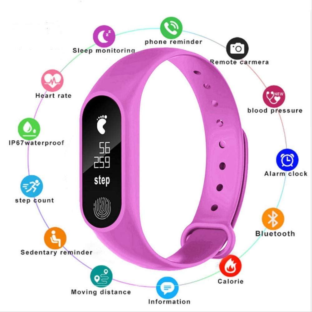 PMFS Reloj Inteligente Relojes para niños Bambini para niñas niños Deporte Bracciale Pulsera Bambino Banda Inteligente Monitor de Fitness Reloj Inteligente