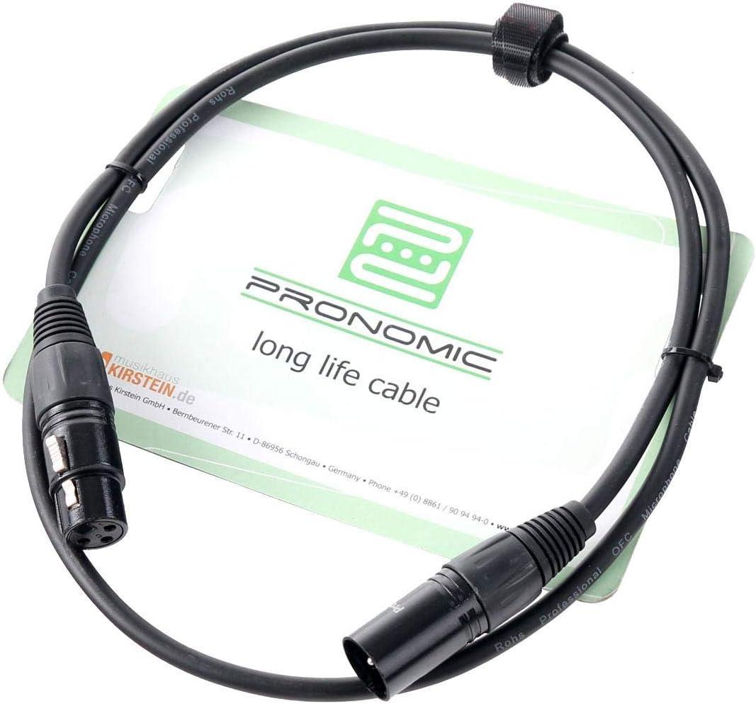 Cable para guitarra designacable NP2XB-VDINBK0500-NP2XB 5 m color negro