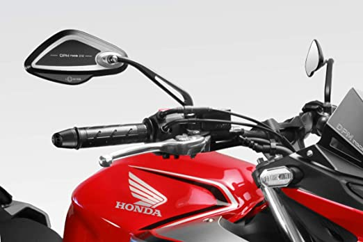 Kit Rearview Mirrors Revenge SS Aluminum Rear Side Lateral View Reflector R-0852 De Pretto Moto Accessories - Homologated MT 10 2015//20 DPM Race - 100/% Made in Italy