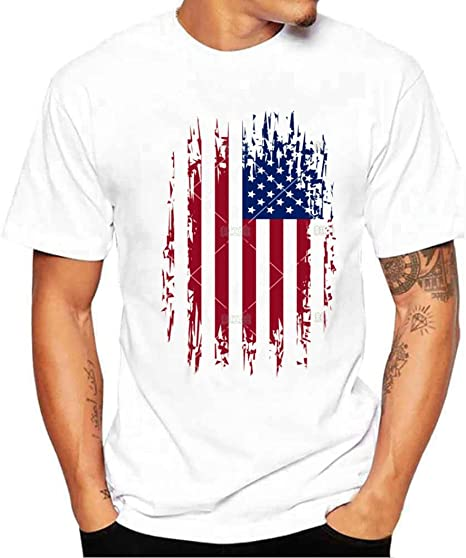 Camiseta Hombre de Verano ❤️Amlaiworld Moda Hombres chicos ...