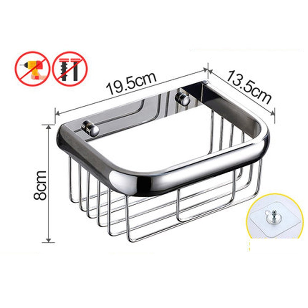 Q&F Toilet Paper Holder,304 Stainless Steel Bathroom Paper Tissue Holder -waterproof,For Bathroom,Bedroom,Kitchen-B
