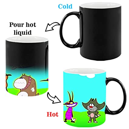 Buy Oggy And The Cockroaches Cartoon Coffee Mug For Friends