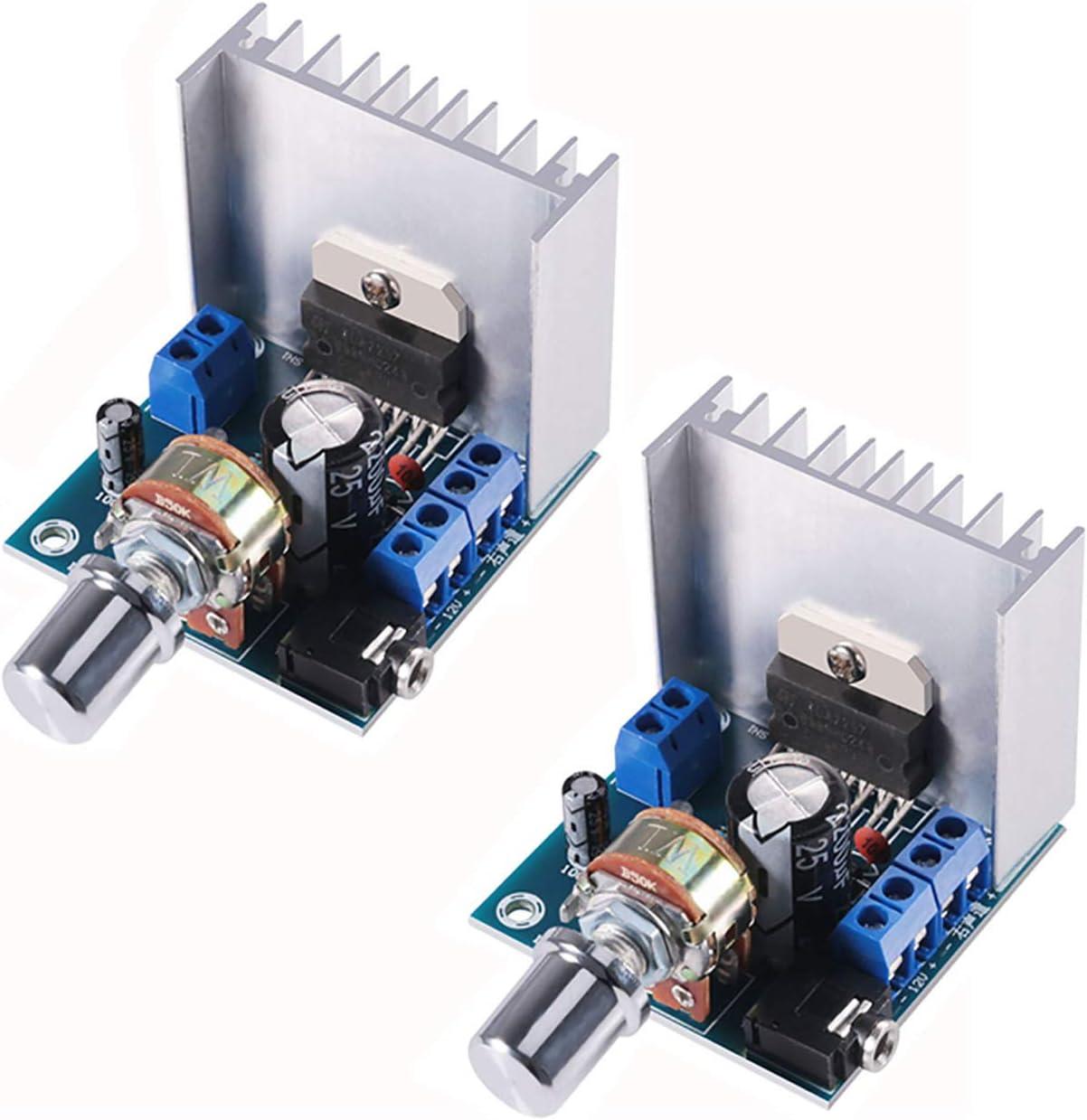 TDA7297 Amplifier Board 15W+15W Dual Track Stereo Modul DC 12V DIY C5E3