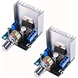 TDA7297 15W+15W Digital Amplifier Module, 30W Audio Power 12V DC Mini Stereo Amp Amplify Dual Channel Power Stereo Compatible