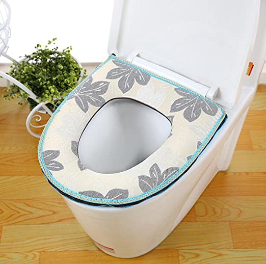 Cojines de asiento de inodoro cálido sat maleta pegar wc ...