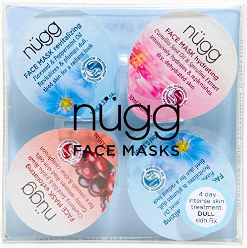 nügg 4 Day Radiance Boost: Multi-Masking Face Mask Set to B