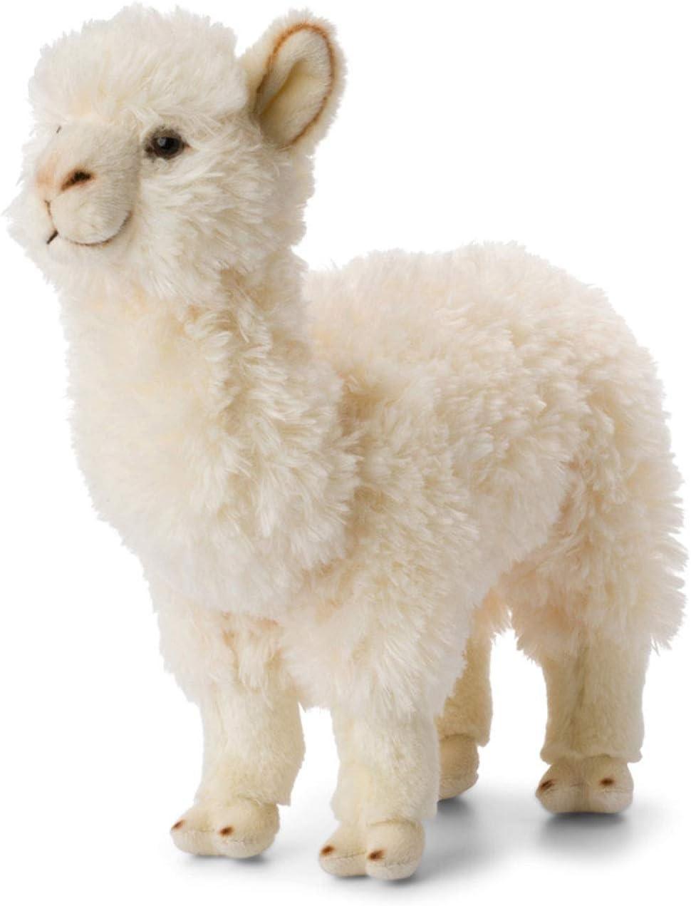 WWF - Peluche alpaca hoja blanca - 31 cm