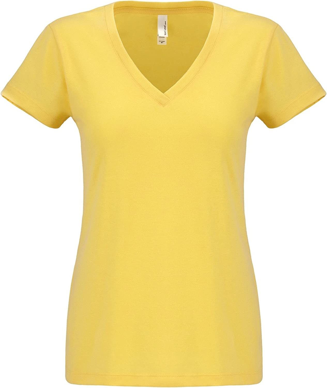 Next Level-Women's Sueded Short Sleeve V-6480