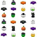 QINGQIU 24 PCS Halloween Mochi Squishy Toys Squishies Halloween Toys for Kids Girls Boys Halloween Party Favors…