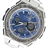 CASIO(カシオ) 腕時計 G-SHOCK G-STEEL Gスチール 電波受信機能 タフソーラー GST-W110D-2A ブルー×シルバー メンズ [並行輸入品]
