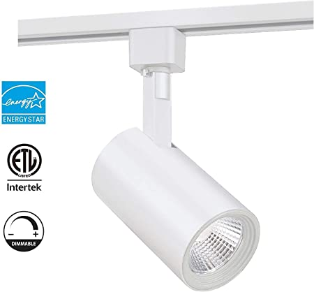 Led Track Lighting Head Cri90 4000k Natural White Dimmable