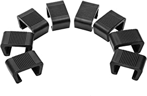 Ahier 8PCS Patio Furniture Clips, Outdoor Furniture Clips Wicker Furniture Rattan Chair Sofa Fasteners Clip, Small (Small)