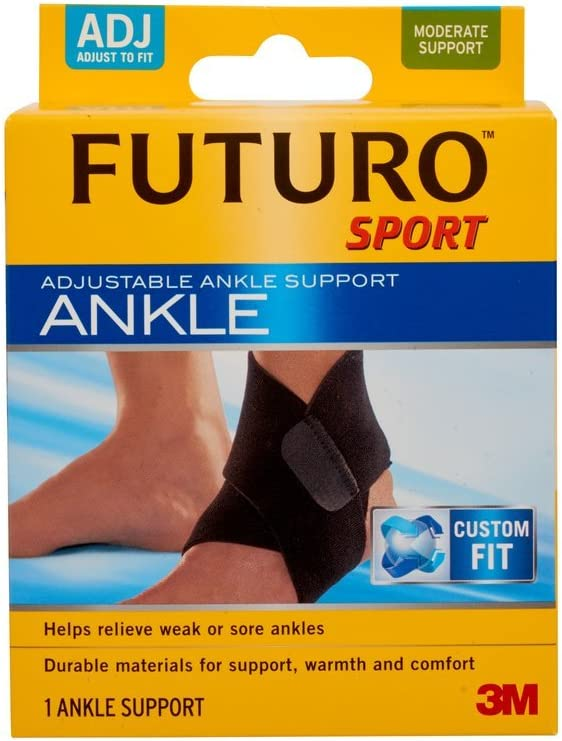 Futuro Sport Ankle Support, Adjustable , 1 support