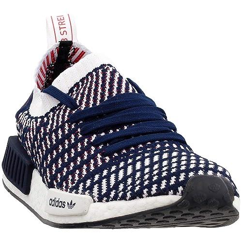 adidas NMD_R1 STLT Primeknit Shoes Navy D96821 Chicago   Chicago          adidas Mens NMD_R1 STLT Primeknit Athletic