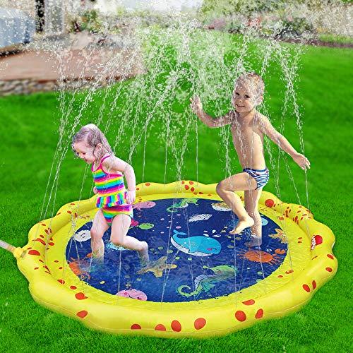 (VATOS Sprinkler for Kids and Splash Play Mat 59