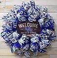 Kentucky Wreath, Kentucky Wildcats Decor, Kentucky Welcome to our home wreath, 4137