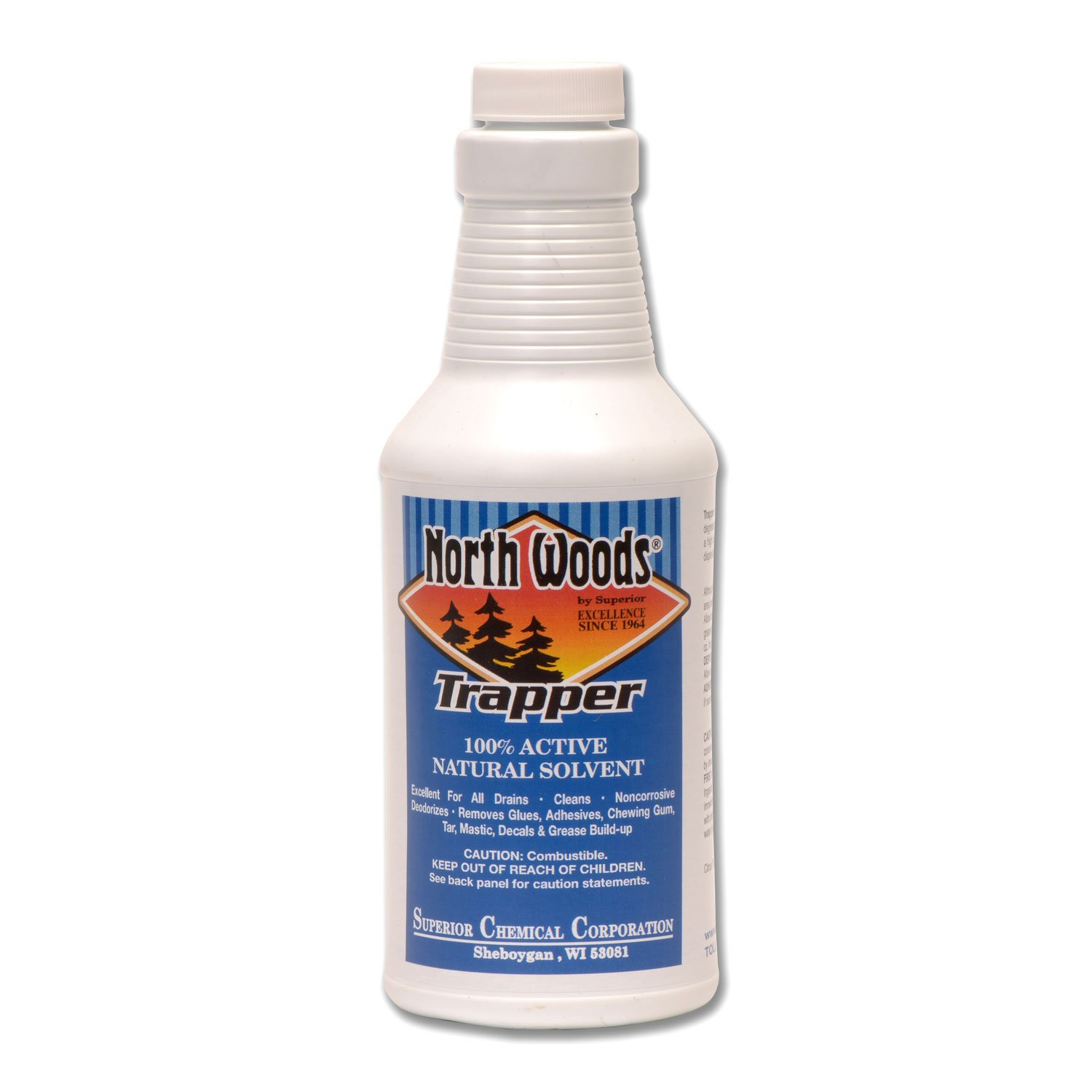 North Woods Trapper - 1 Natural Citrus Degreaser & Deodorizer (Pack of 12)